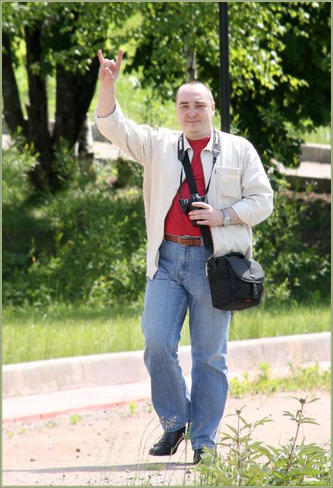 Дмитрий Новоженов на корпоративе КРОС 07.06.2008