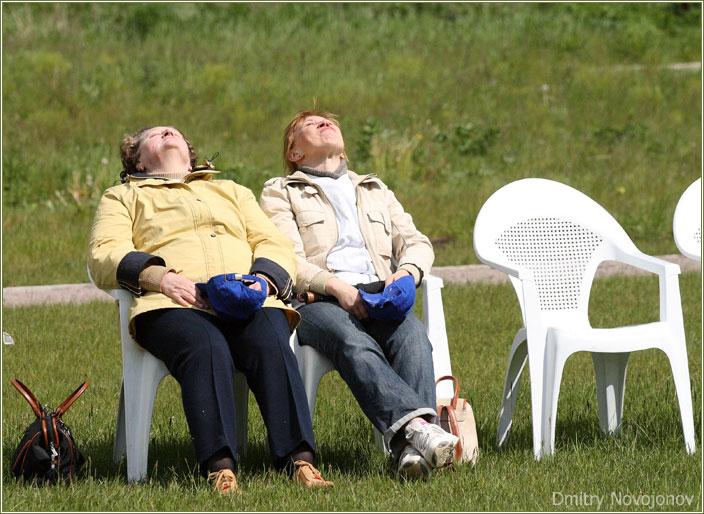 Отдыхающие на корпоративе КРОС 07.06.2008