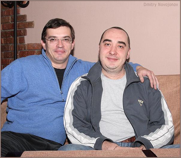Дмитрий Новоженов и Сергей Солтицкий(Фотограф Дмитрий Новоженов)