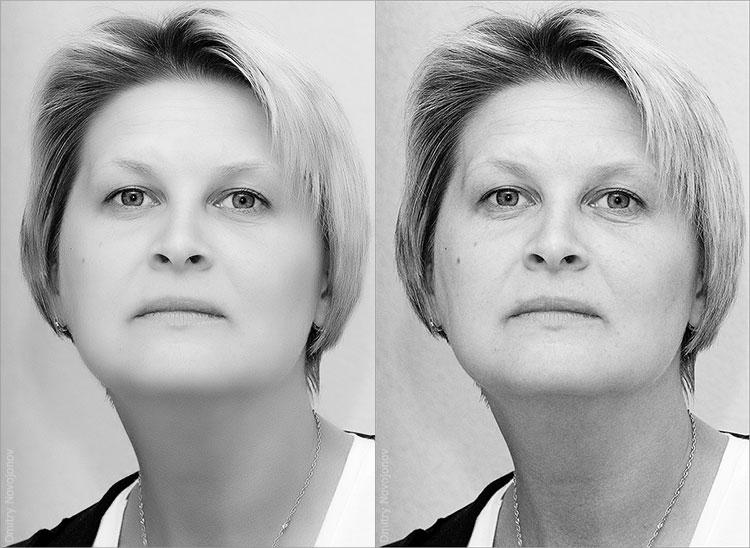 Обработка портретов в Photoshop