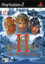 Скан обложки игры Age Of Empires 2 The Age Of Kings на PlayStation 2
