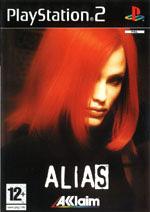 Скан обложки игры Alias на PlayStation 2