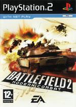 Скан обложки игры BattleField 2: Modern Combat на PlayStation 2