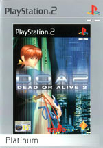 Скан обложки игры Dead Or Alive 2 на PlayStation 2