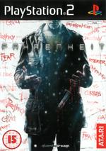Скан обложки игры Fahrenheit на PlayStation 2