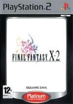 Скан обложки игры Final Fantasy X-2 на PlayStation 2