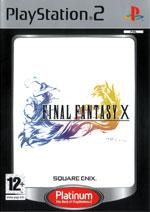 Скан обложки игры Final Fantasy X на PlayStation 2