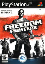 Скан обложки игры Freedom Fighters на PlayStation 2