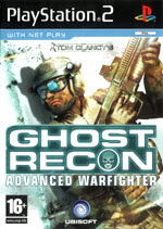 Скан обложки игры Tom Clancy's Ghost Recon Advanced Warfighter на PlayStation 2