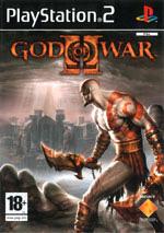 Скан обложки игры God Of War II на PlayStation 2