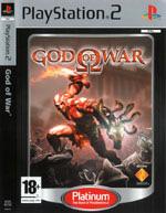 Скан обложки игры God Of War на PlayStation 2