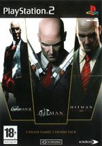 Скан обложки игры Hitman: Contracts на PlayStation 2