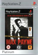 Скан обложки игры Max Payne на PlayStation 2