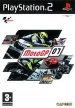 Скан обложки игры MotoGP 07 на PlayStation 2