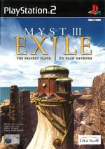Скан обложки игры MYST III: Exile на PlayStation 2