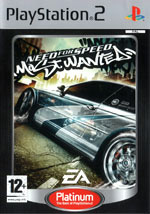 Скан обложки игры Need for Speed: Most Wanted на PlayStation 2