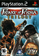 Скан обложки игры Prince Of Persia Sands Of Time на PlayStation 2