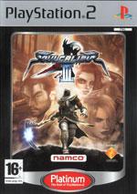 Скан обложки игры Soulcalibur III на PlayStation 2