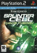 Скан обложки игры Tom Clancy's Splinter Cell Chaos Theory на PlayStation 2