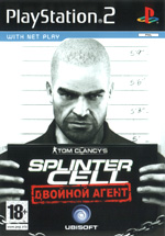 Скан обложки игры Tom Clancy's Splinter Cell: Double Agent на PlayStation 2