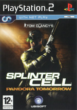 Скан обложки игры Tom Clancy's Splinter Cell Pandora Tomorrow на PlayStation 2