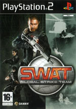 Скан обложки игры SWAT: Global Strike Team на PlayStation 2