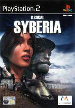 Скан обложки игры Syberia на PlayStation 2