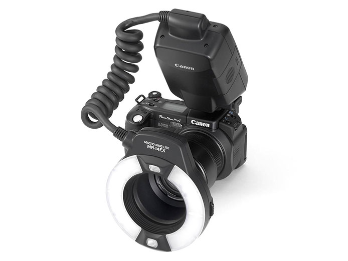 Canon Macro Ring Lite MR-14 EX (Вспышка)