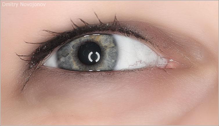 Редактирование глаз в Photoshop