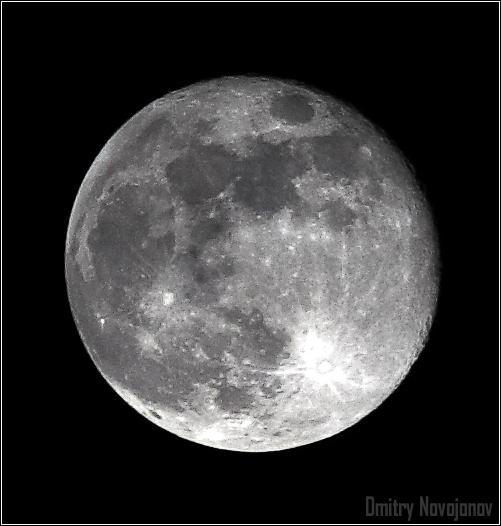 Мой Генерал : Луна обладает магическим воздействием на многих людей, особенно в полнолуние (Фотограф Дмитрий Новоженов)