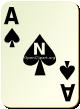 """Изображение игральной карты без специфики """"Spear Ace"""" (Spear Ace)"""