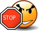 """Смайл """"Стоп"""" (Stop)"""